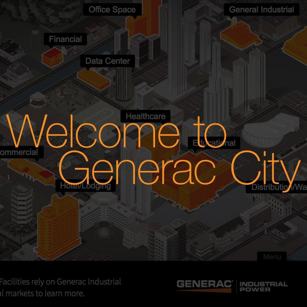Generac City Digital Sales Tool