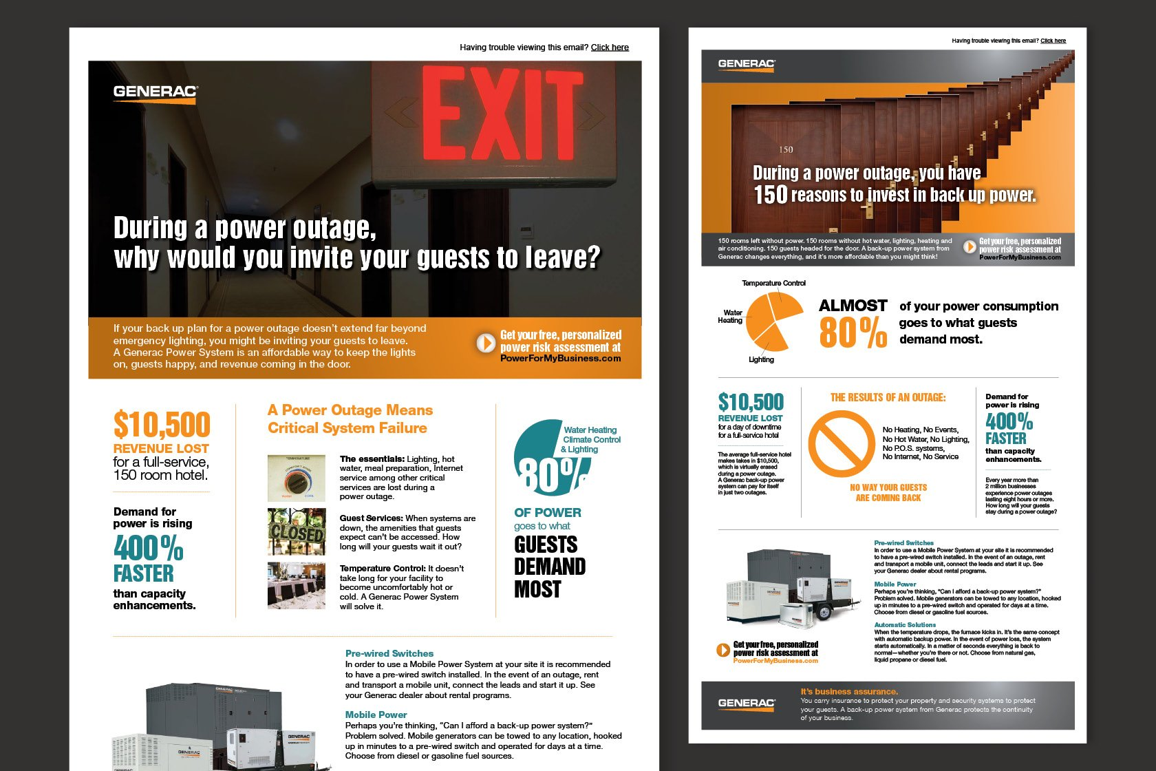 generac html email designs