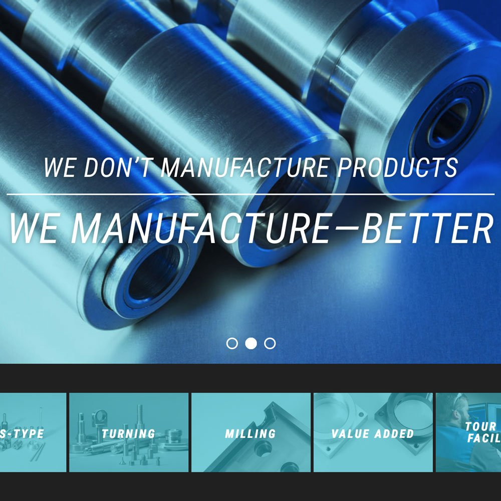 eTEK Precision Manufacturing Website